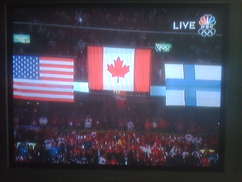 Gold medal in Hockey!