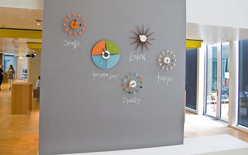 Microsoft Schipol Clocks