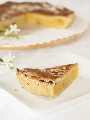 """Torta pasticciotto (o """"pizza di crema"""")"""