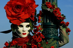 lady rose | Carnevale 2010 photo by arnabchat