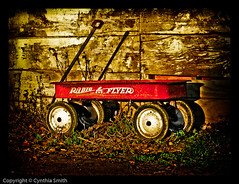 Gritty..Dusty... Little Red Wagon photo by csmith01964