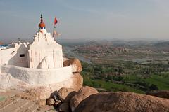 Hanuman Temple. Hampi