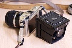 Rollei EVF for E-P1 photo by lok cheung