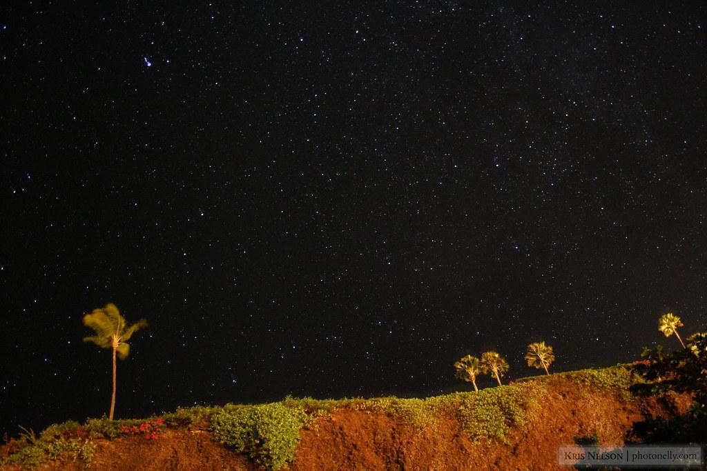 Stars over West Maui