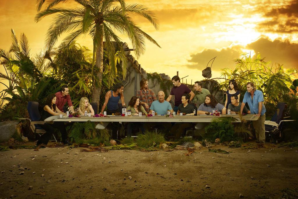 《迷失》lost 第六季 大结局 最后的晚餐 海报解读!