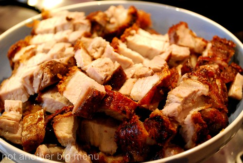 Meal with friends - Roast pork