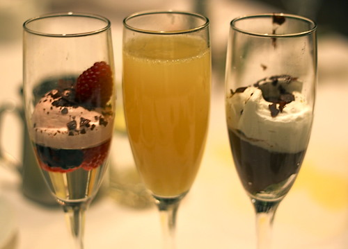 Mimosa & desserts at Sterling Brunch in Las Vegas