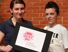 Student Association | newly elected President and Vice President photo by Seevic College