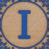 block letter i