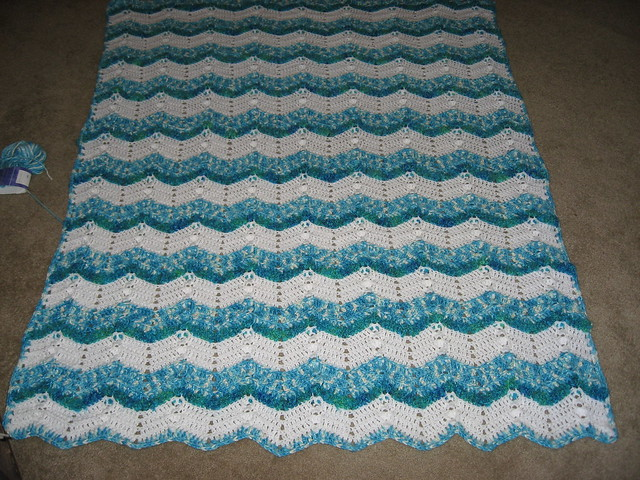 Variegated Yarn Afghan Crochet Pattern Learn to Crochet
