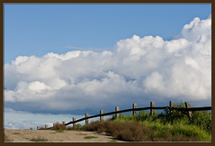 Fence in the Clouds photo by Jill Clardy