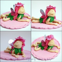 "Fairy Inspired by ""Cupcakes by design"" photo by ~ petel ~"