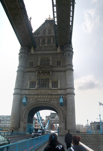 Tower bridge tower