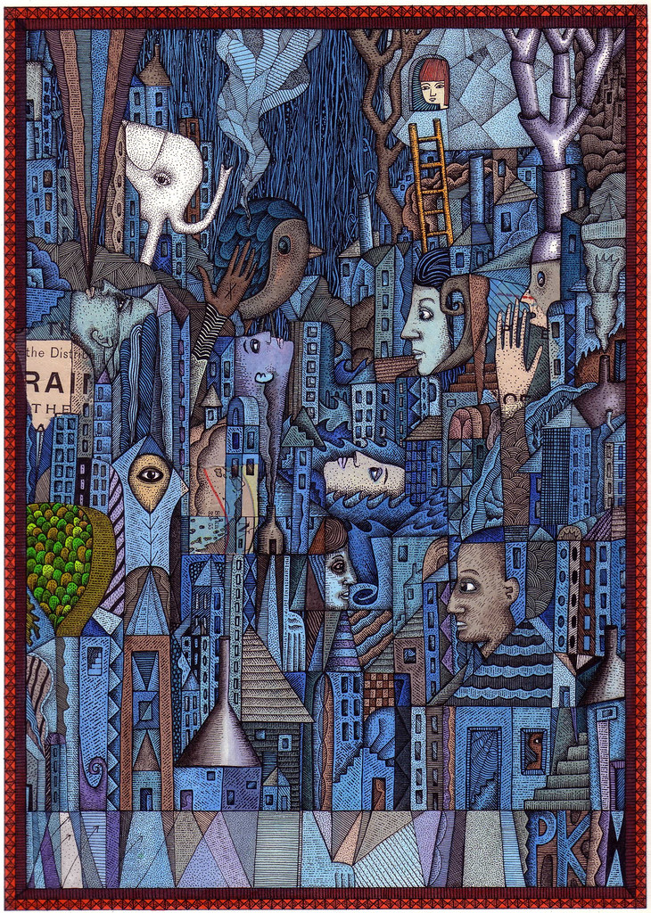White Elephant (In The Blue City) photo by bigheadedrobot