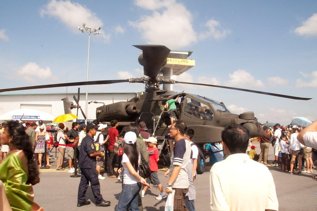 RSAF Helicopter Display