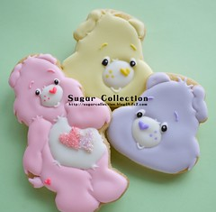 care bear cookies photo by JILL's Sugar Collection