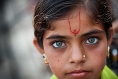 Eyes, Dwarka photo by Marji Lang
