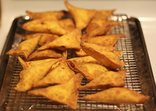 Cream Cheese Dungeness Crab Rangoon