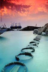 Oshairej Sunset photo by A.alFoudry