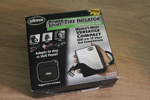 Slime Power Sport Tire Inflator Review
