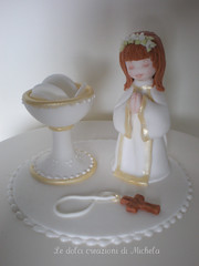 First Communion topper cake photo by Le dolci creazioni di Michela