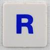 hangman tile blue letter R