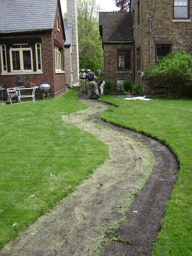 yard drainage solutions across chicago digrightin