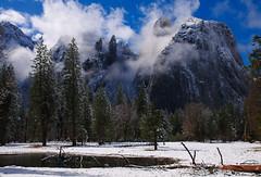 Cathedral Rock, Yosemite National Park, California, USA photo by Xindaan