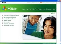 Windows Mobile 5 Developer Resource Kit