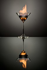 The Flaming Martini photo by andrew_v