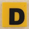 counterfeit Lego letter D