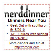 NerdDinner - Flair - Dinners Near You