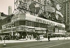 1937 TIMES SQUARE International Casino WRIGLEYS NEON Daytime NYC vintage photo NEW YORK CITY photo by Christian Montone