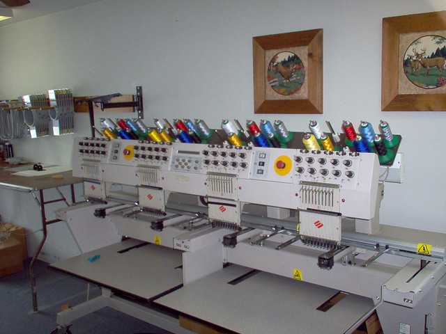 EMBROIDERY HOOP MACHINE MELCO