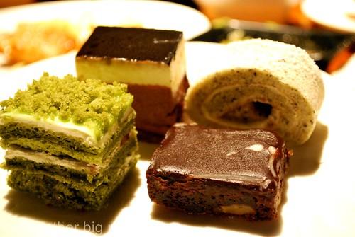 Jogoya, KL - Cake selection