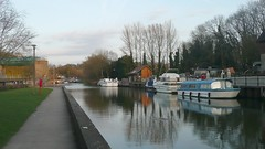 River Medway at Allington Locks,Kent photo by john47kent