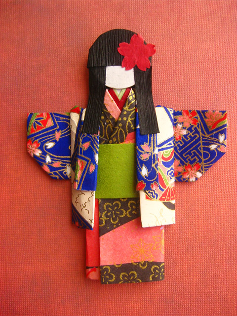 DOLL JAPANESE ORIGAMI