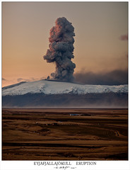 Eyjafjallajökull eruption photo by hallgrg