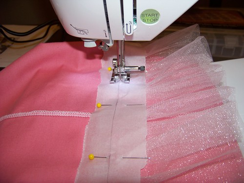 Getting Ready to Stitch on the Paper