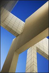 Spain - Barcelona - MACBA - Abstract composition v3 photo by Darrell Godliman