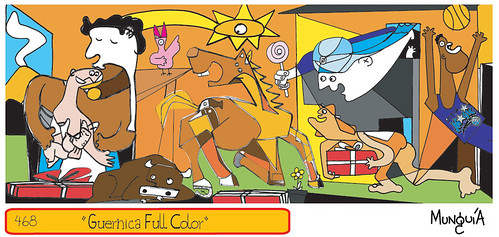 Guernica Full Color photo by Parodias de Pinturas Famosas