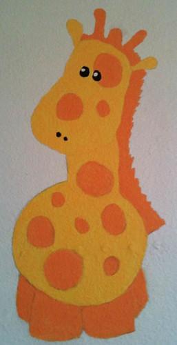 Painted-Giraffe