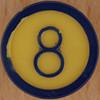 Colour Bingo orange number 8