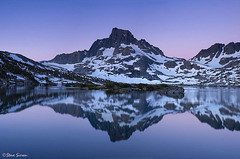 Thousand Island Lake pano photo by Steve Sieren Photography