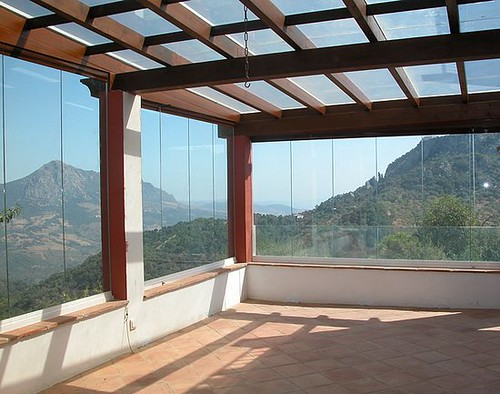 Cortinas de cristal buena alternativa para aislar terrazas - Fotos de cerramientos de terrazas ...