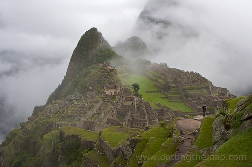 Machu Picchu Breaks Through the Clouds