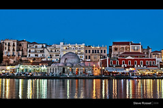 Chania Harbour photo by Steve Rosset