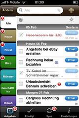 Screenshot 2do Applikation