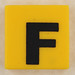 counterfeit Lego letter F