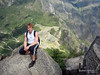 Á toppi Machu Pichu fjallsins - Perú